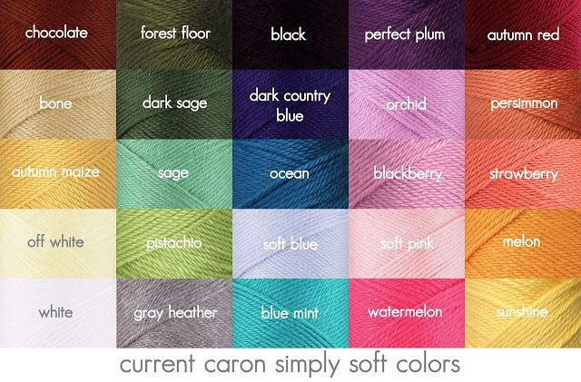 Elegant Caron Yarn Color Chart Google Search Simply soft Yarn Colors Of Contemporary 41 Pictures Simply soft Yarn Colors