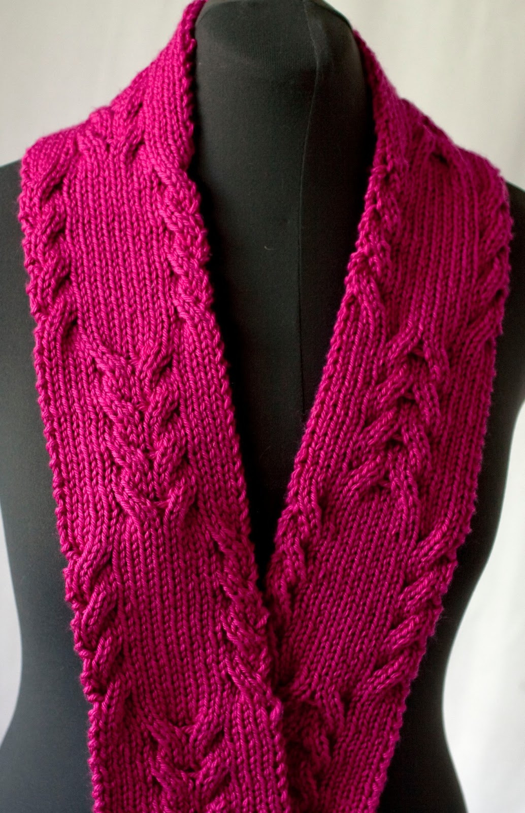 Elegant Cascade Yarns Blog Reversible Cabled Scarf 220 Cable Knit Scarf Of Delightful 48 Ideas Cable Knit Scarf