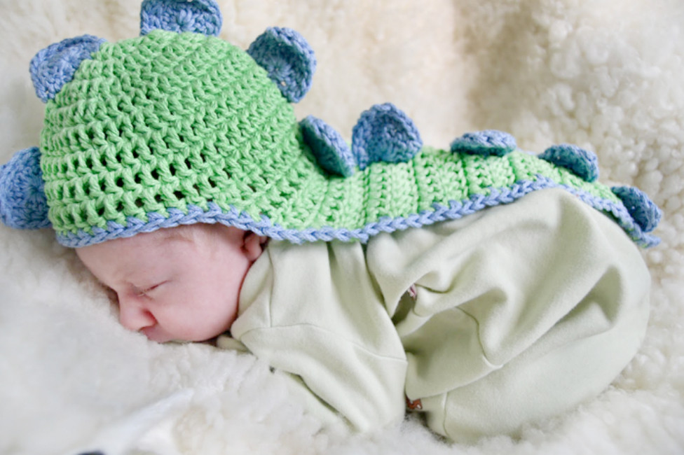 Elegant Chic and Cozy these Baby Crochet Hats are Simply Adorable Crochet Dinosaur Hat Of Beautiful 44 Photos Crochet Dinosaur Hat