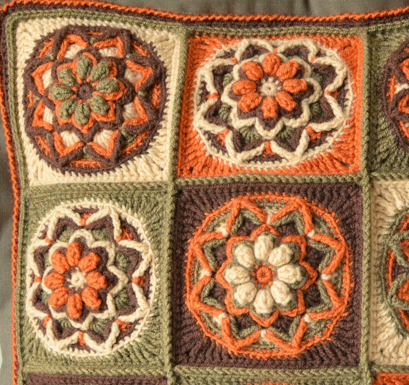 Elegant Chocolate Lotus Pillow and Play with Colors Crochet Pillow Patterns Of New 49 Models Crochet Pillow Patterns