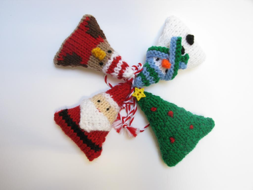 Elegant Christmas Knitties by Made by Ewe Craftsy Christmas ornament Knitting Patterns Of Beautiful 41 Pics Christmas ornament Knitting Patterns