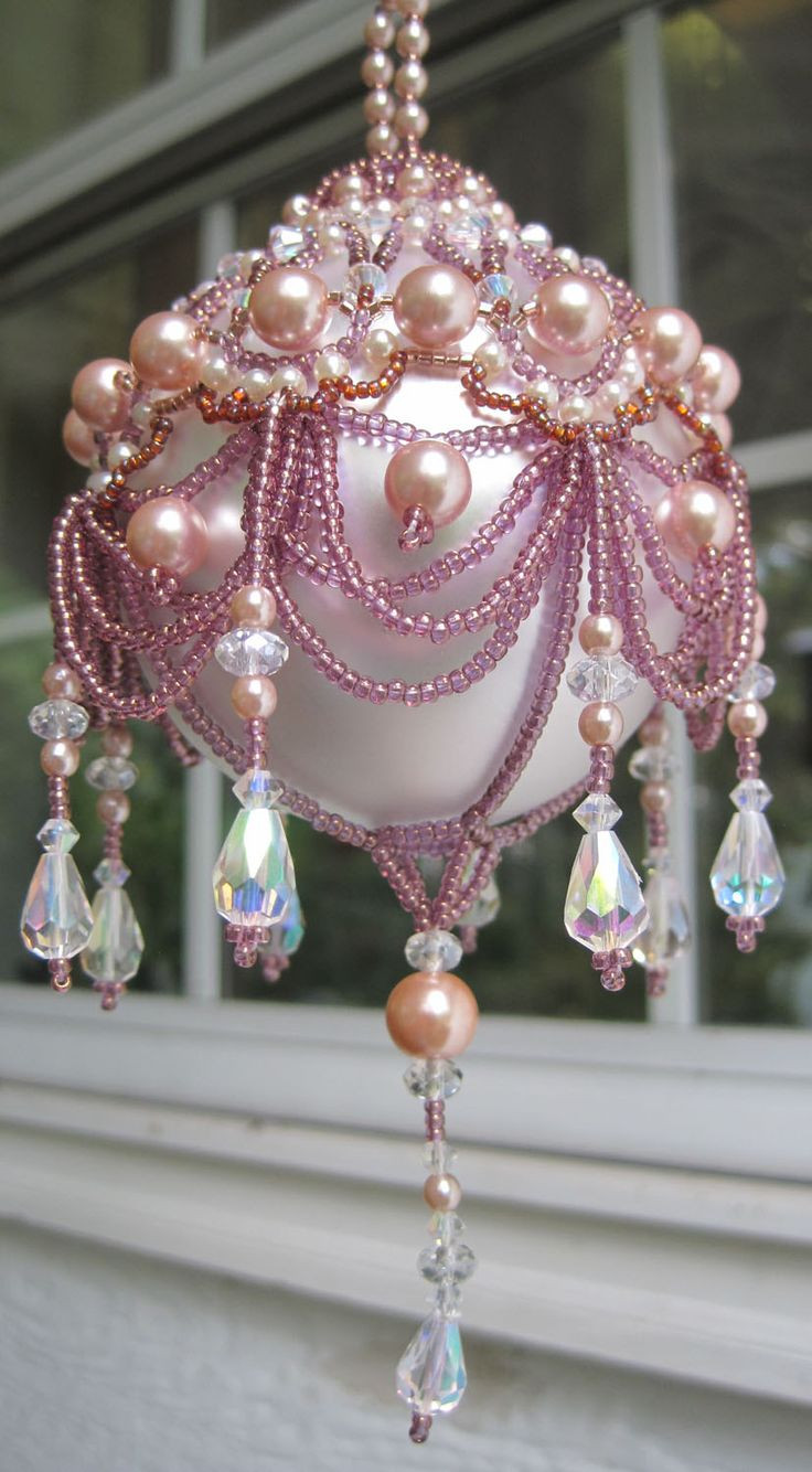 Elegant Christmas ornaments New 17 Best Ideas About Beaded ornaments On Pinterest Of Contemporary 40 Images Elegant Christmas ornaments