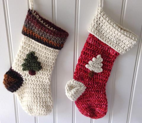 Elegant Christmas Stocking Free Pattern – Maggie S Crochet Crochet Pattern for Christmas Stocking Of Lovely Christmas Stockings Crochet Pattern for Christmas Stocking