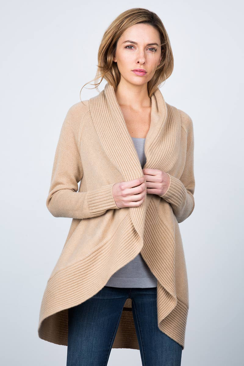 Circle Cozy Cardigan Kinross Cashmere
