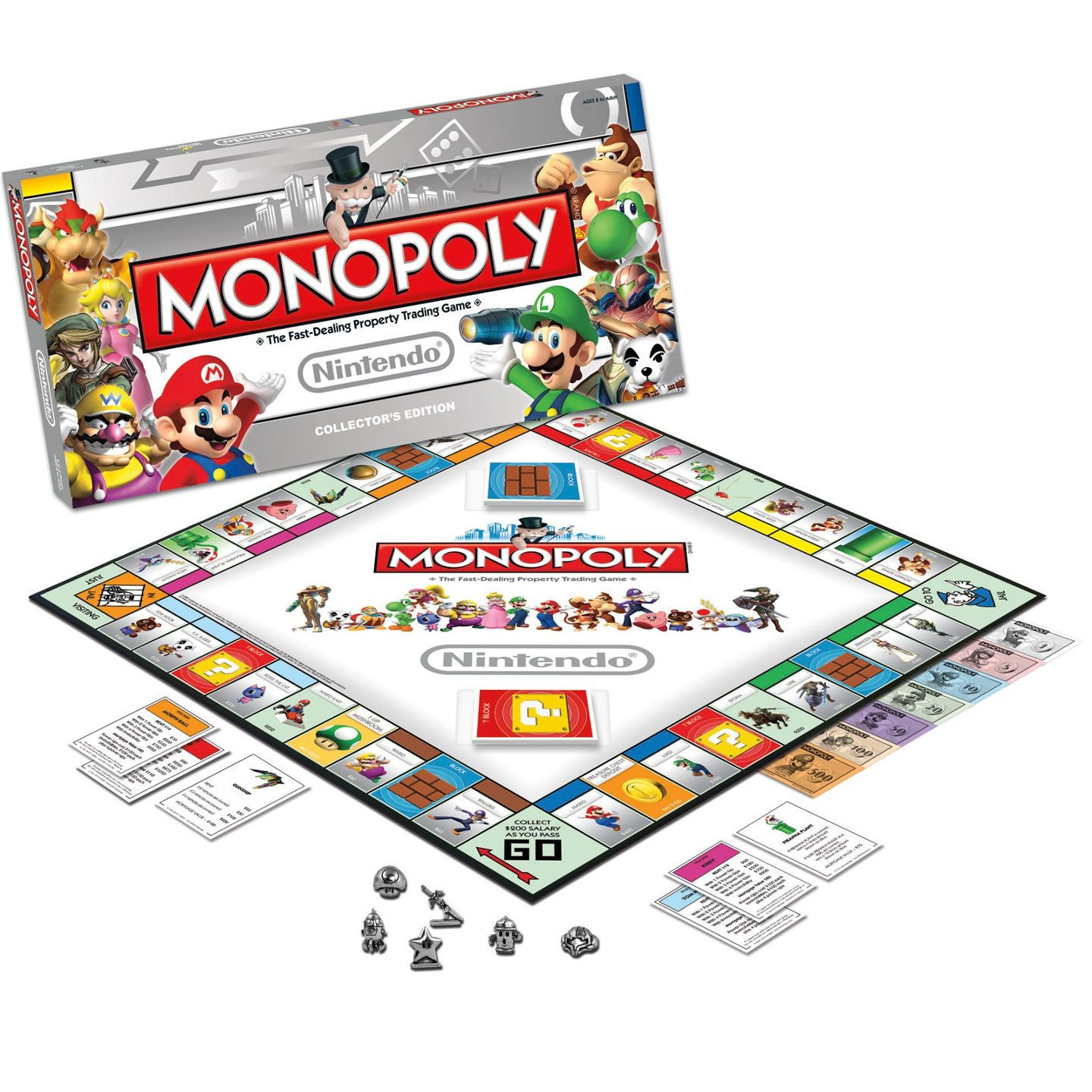 Cool Stuff USAopoly Nintendo Monopoly Collector s Edition