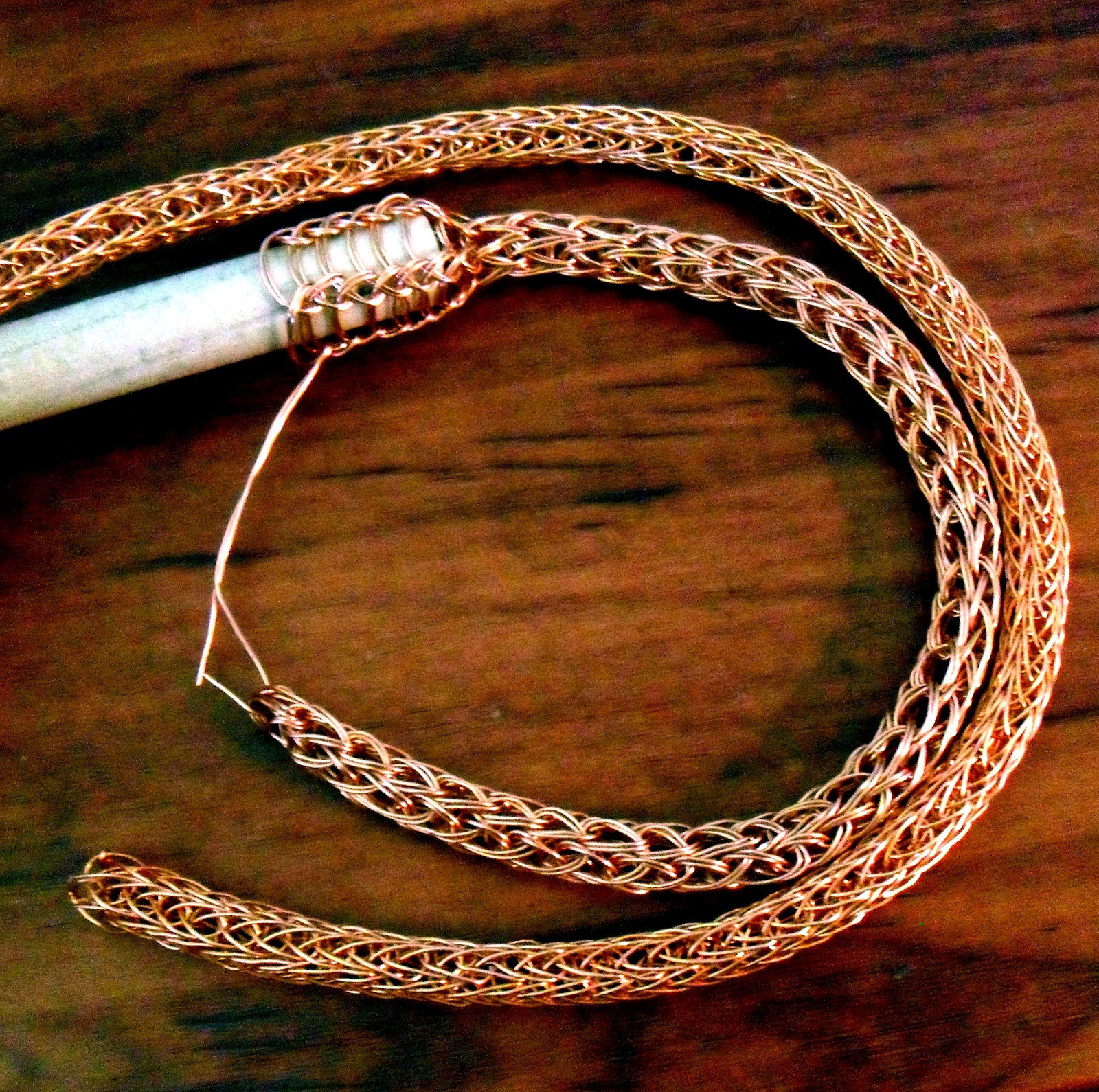 Elegant Copper Glass and Recycled Trash Viking Knit Wire Knitting Of Unique 44 Images Wire Knitting