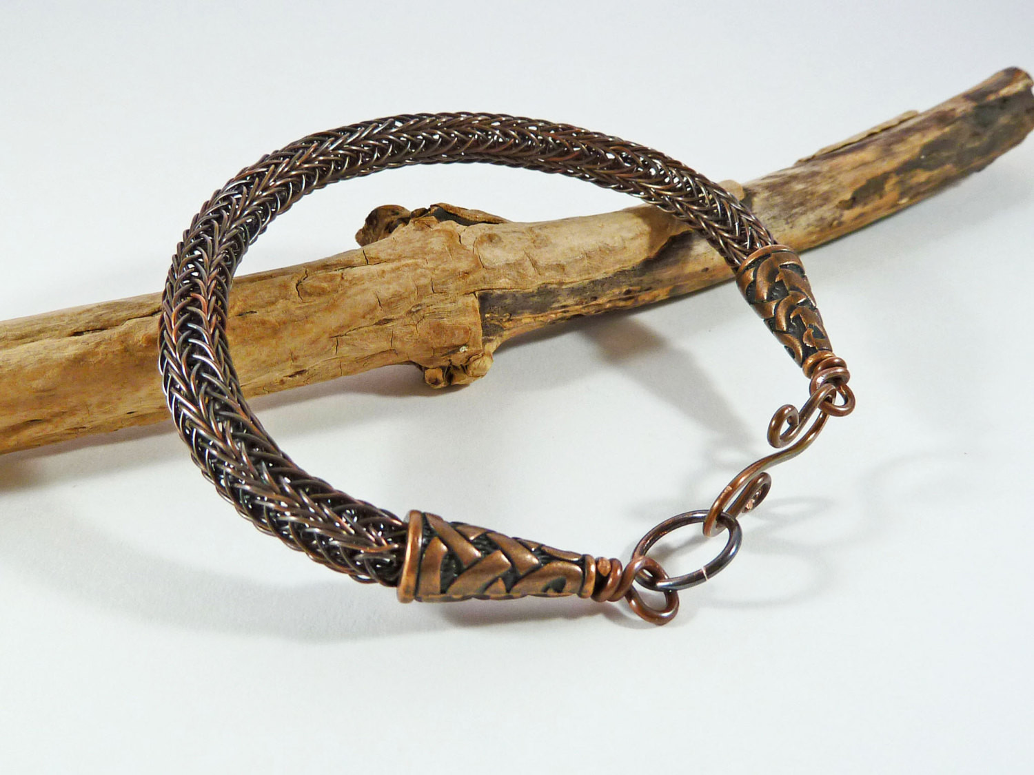 Elegant Copper Viking Knit Bracelet Viking Weave Bracelet Rustic Knitted Bracelet Of Brilliant 50 Models Knitted Bracelet