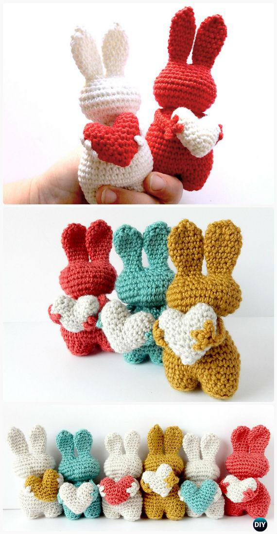 Elegant Crochet Amigurumi Bunny toy Free Patterns Instructions Free Crochet toy Patterns Of Innovative 46 Photos Free Crochet toy Patterns