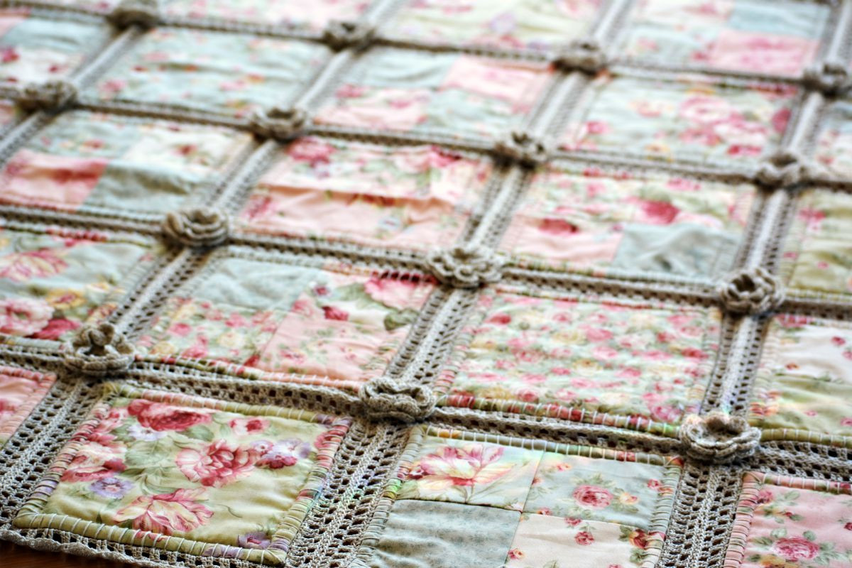 Elegant Crochet and Fabric Quilt – the Green Dragonfly Crochet and Fabric Quilt Of Top 45 Models Crochet and Fabric Quilt