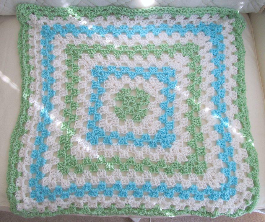 Crochet Baby Afghan Patterns For Beginners Dancox for