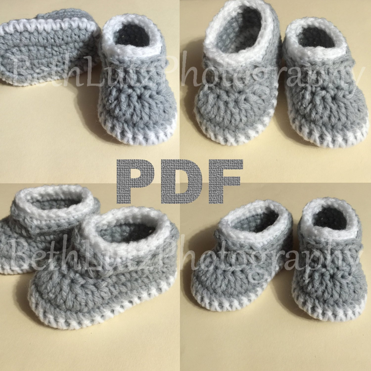 Crochet Baby Boy Shoe Free Pattern