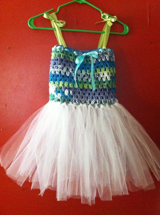 Elegant Crochet Bodice Tutu Dress Crochet tops for Tutus Of Adorable 45 Models Crochet tops for Tutus