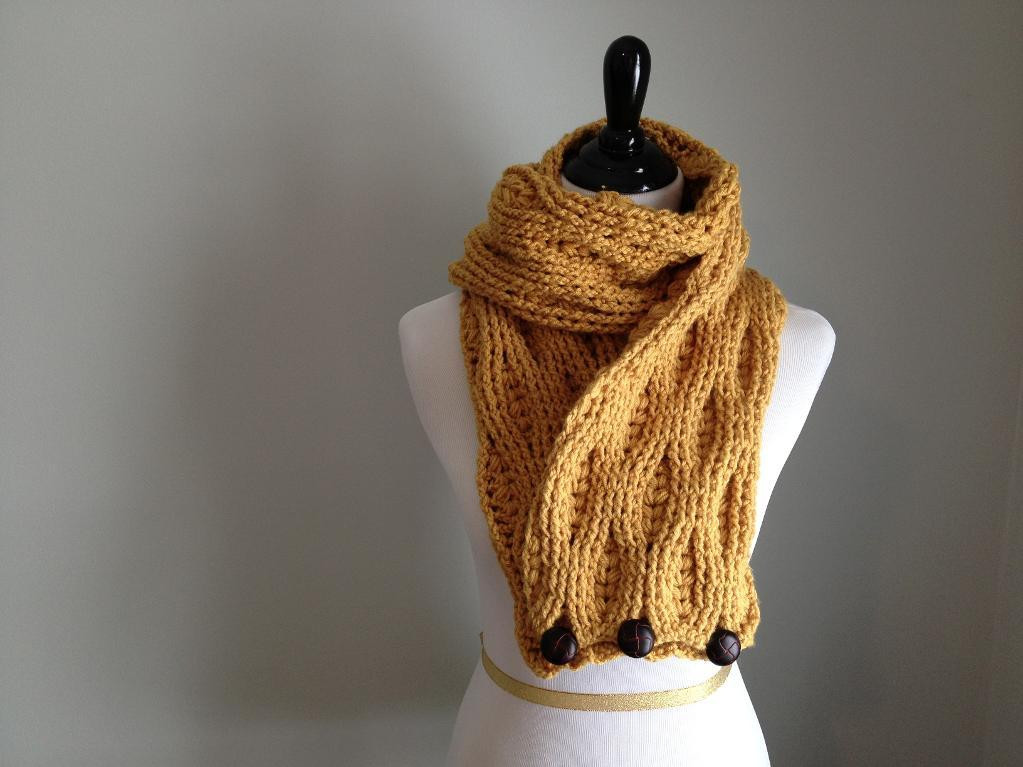 Elegant Crochet Cable Scarf Patterns 10 Projects You Ll Love Cable Scarf Pattern Of Attractive 46 Pics Cable Scarf Pattern