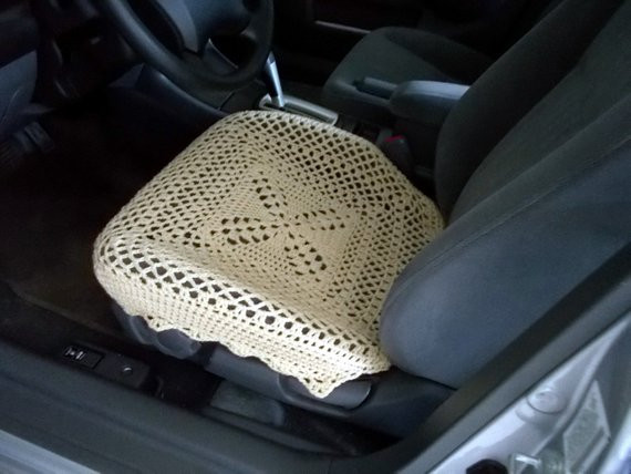 Elegant Crochet Car Front Seat Cover Oatmeal Ccfsc2a Crochet Seat Cover Of Beautiful Crochet Car Front Seat Cover Aran Grey Heather Ccfsc1a Crochet Seat Cover