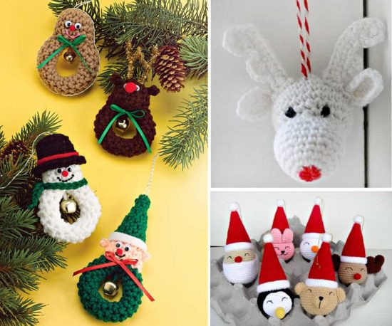 Elegant Crochet Christmas ornaments Free Patterns Free Crochet Christmas Tree ornament Patterns Of Awesome 44 Ideas Free Crochet Christmas Tree ornament Patterns
