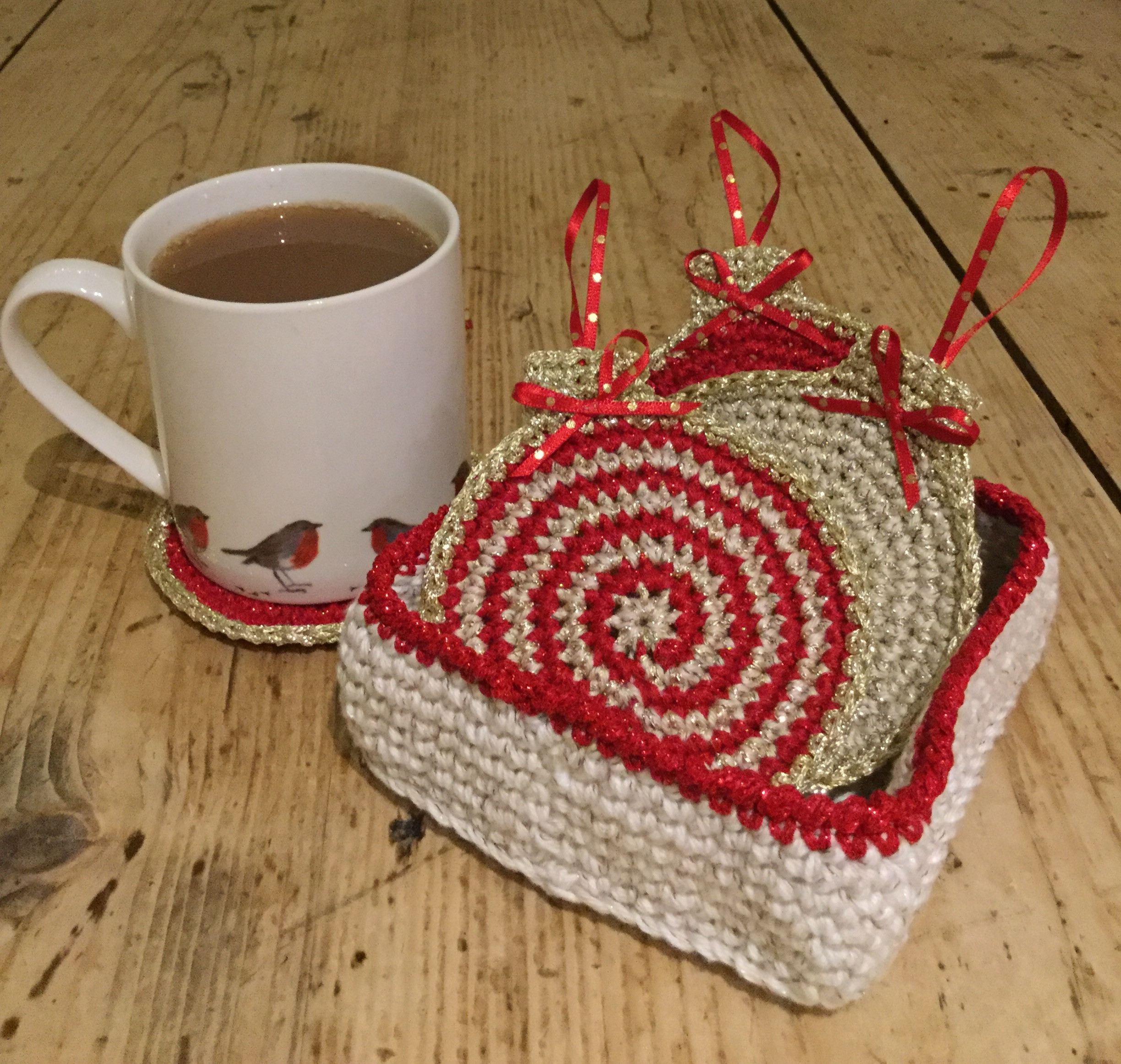 Elegant Crochet Club Christmas Bauble Coasters Ho Ho Ho Crochet Club Of Great 43 Models Crochet Club