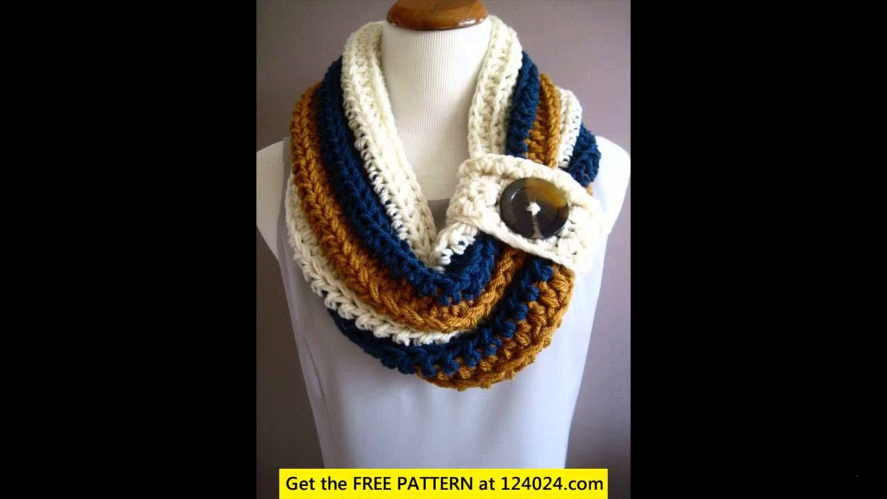 Elegant Crochet Cowl Neck Scarf Crochet Scarf Youtube Of Attractive 40 Pictures Crochet Scarf Youtube