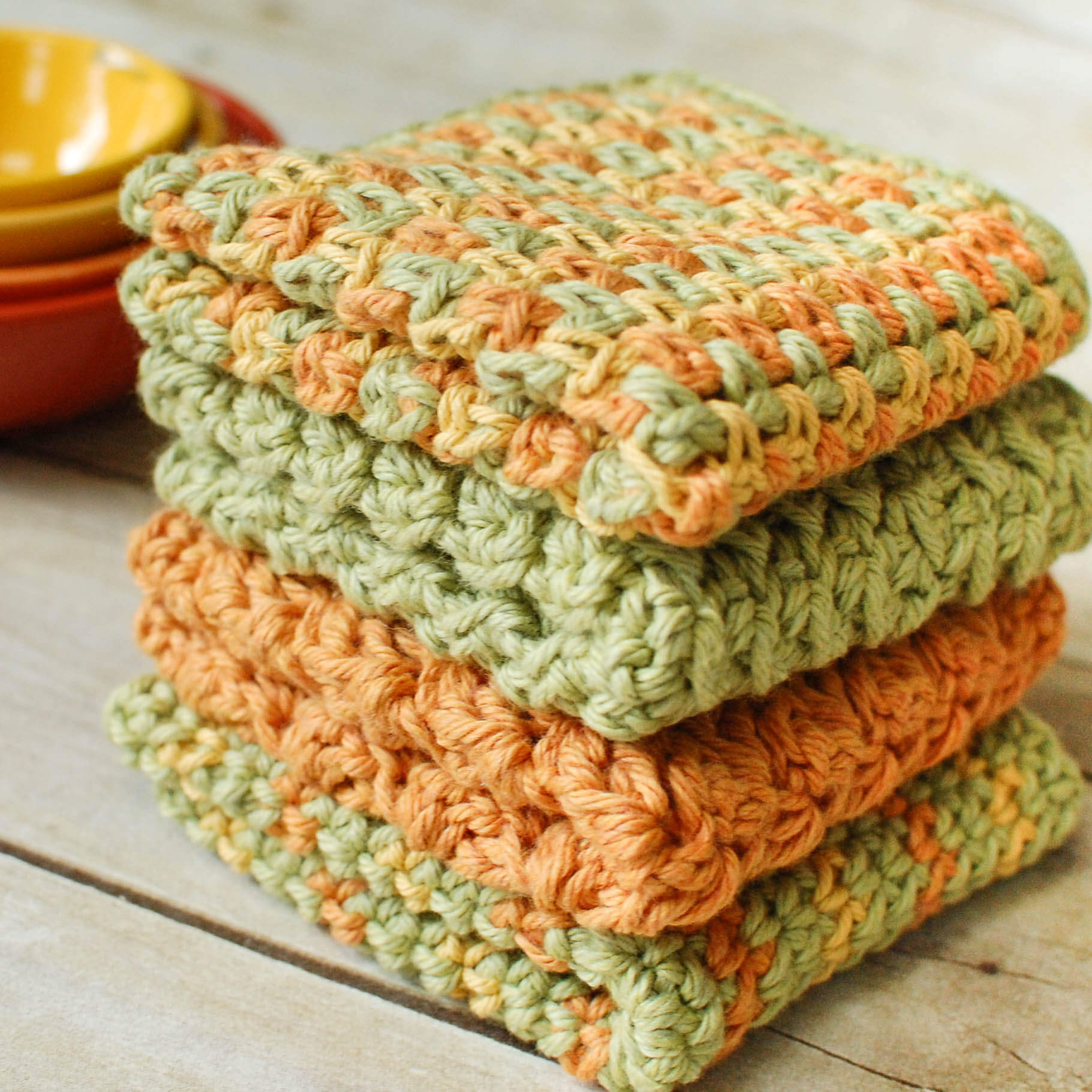 Elegant Crochet Dishcloths … 4 Quick and Easy Crochet Dishcloth Free Crochet Stitches Of Awesome 41 Models Free Crochet Stitches