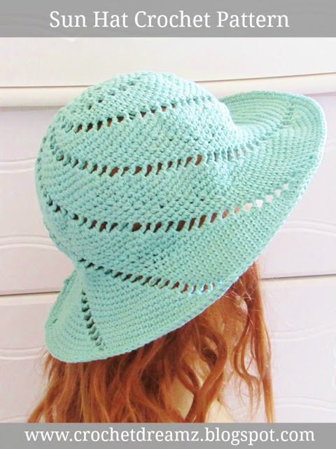 Elegant Crochet Dreamz Sunsational Sun Hat Crochet Pattern Crochet Summer Hat Pattern Of Incredible 46 Photos Crochet Summer Hat Pattern