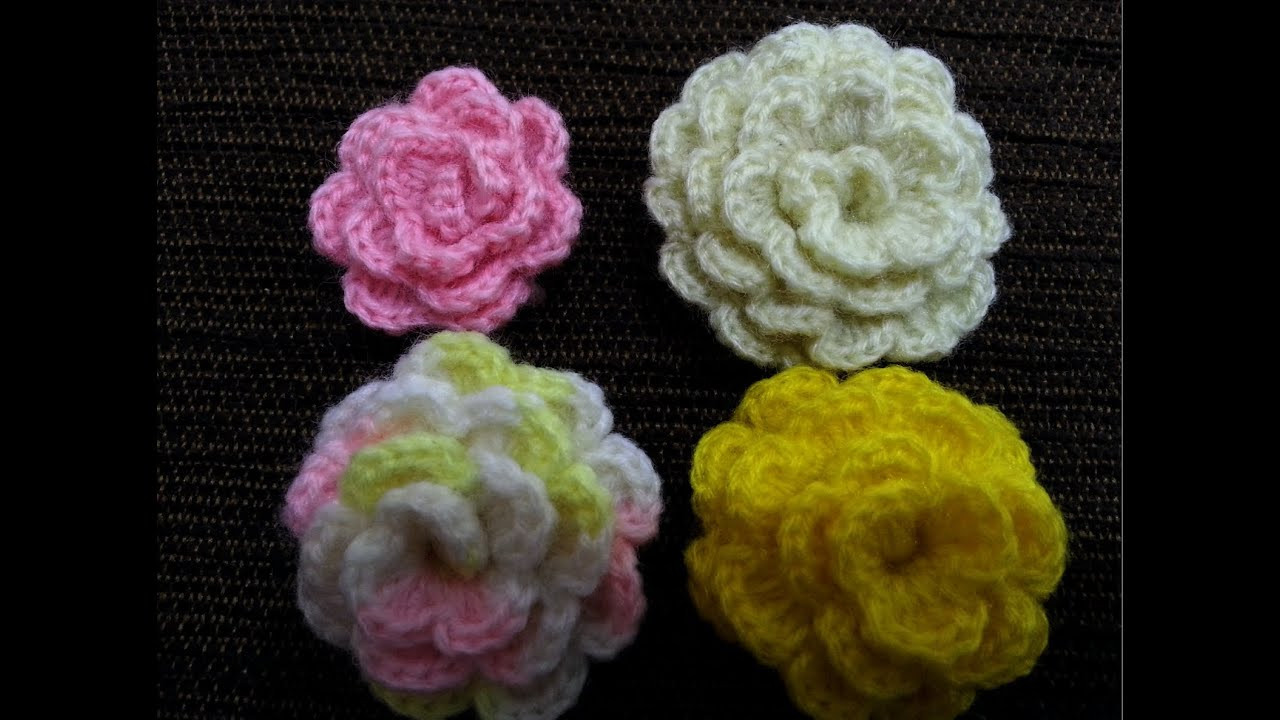 Crochet Flower Tutorial Bob Wilson Dancox for