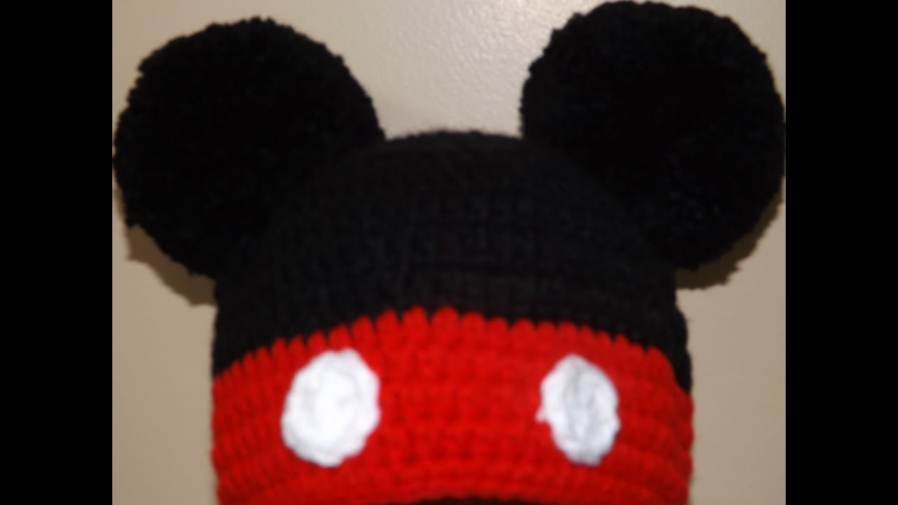 Elegant Crochet Gorrito Mikey Mouse Mikey Crochet Of New 49 Images Mikey Crochet