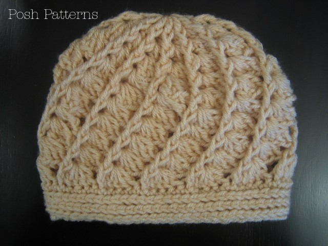 Elegant Crochet Hat Pattern Spiral Shell Beanie Crochet Hat Patterns for Adults Of Fresh Give A Hoot Crocheted Hat Free Pattern for Kids and Adult Crochet Hat Patterns for Adults