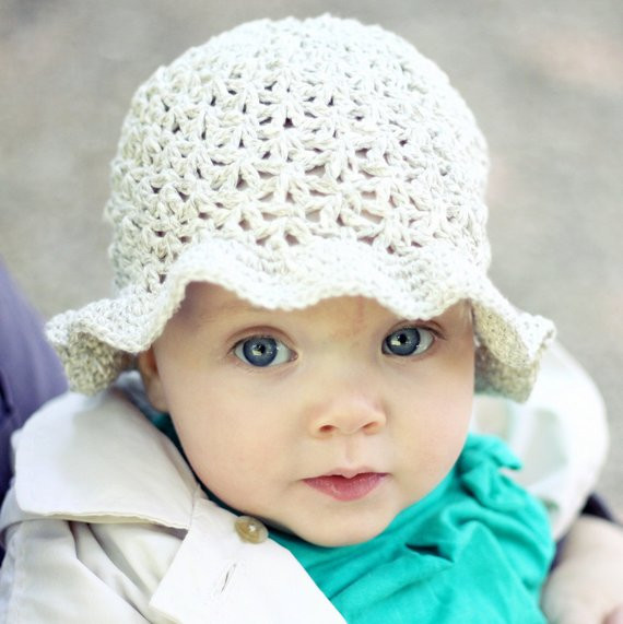 Crochet hat PATTERN Summer Sun Hat baby to adult from
