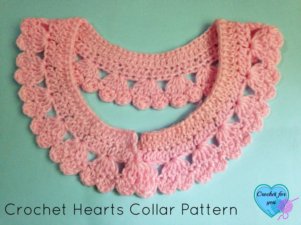 Elegant Crochet Hearts Collar and Edging Crochet for You Free Crochet Edging Patterns Of Perfect 47 Pics Free Crochet Edging Patterns