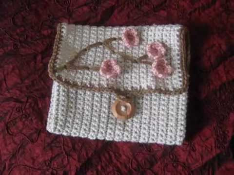 Crochet hook case & Infinity scarf