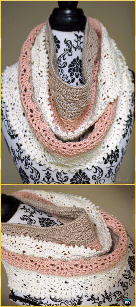 Elegant Crochet Infinity Scarf Cowl Neck Warmer Free Patterns Crochet Cowl Neck Scarf Of Superb 49 Models Crochet Cowl Neck Scarf