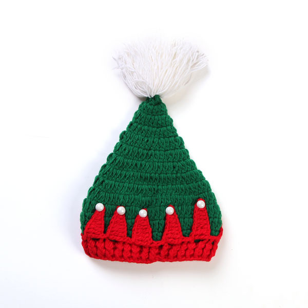 Elegant Crochet Knit Baby Hat Handmade Infant Christmas Beanies Knitted Christmas Hats Of Adorable 50 Models Knitted Christmas Hats