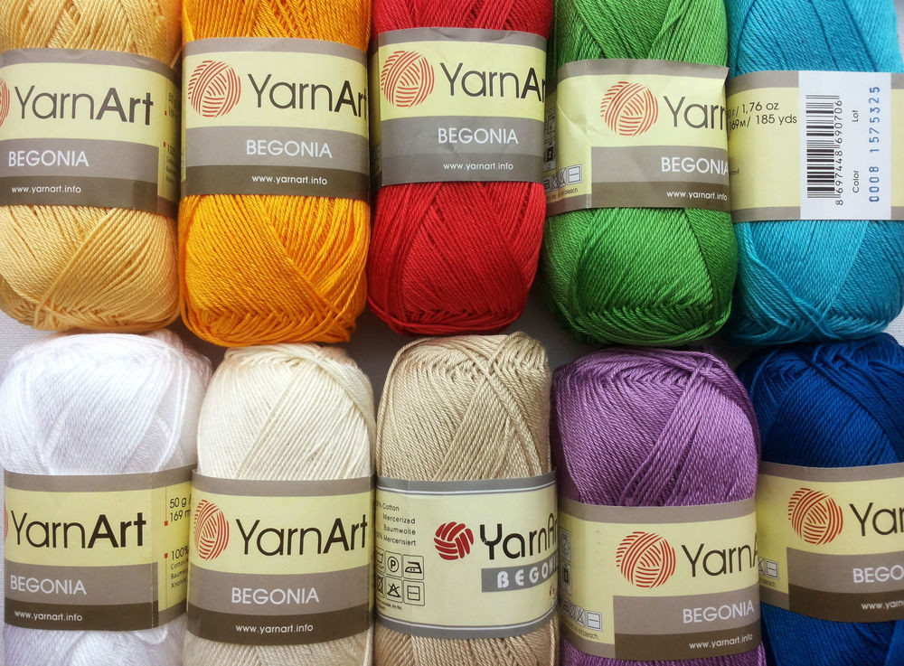 Elegant Crochet Knitting Mercerized Cotton Yarn Wool Begonia Crochet Cotton Thread Of New 50 Pics Crochet Cotton Thread