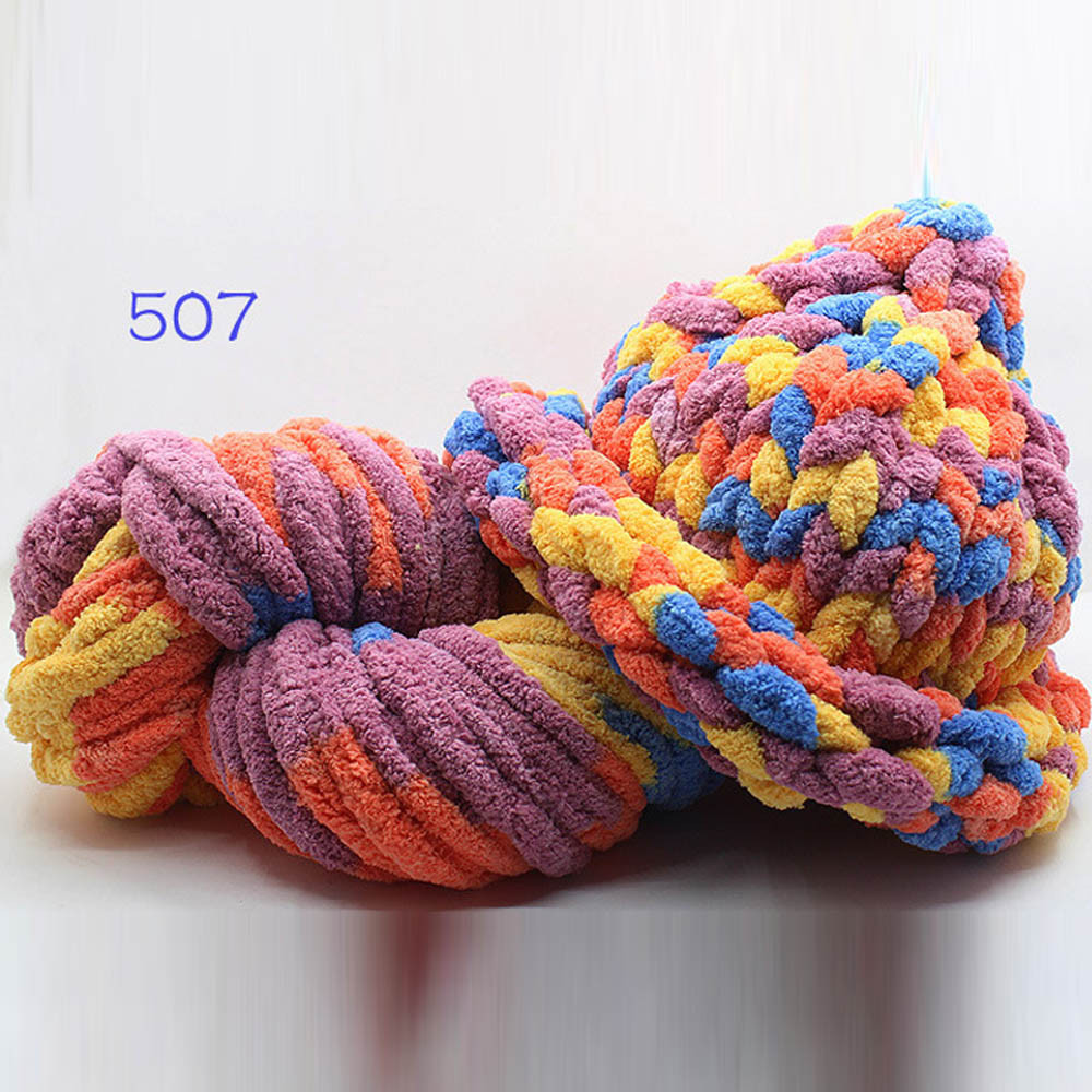 Elegant Crochet Knitting Yarn Ice Line Thick Thread Scarf Shoes Hand Crochet Yarn Of Delightful 43 Models Hand Crochet Yarn