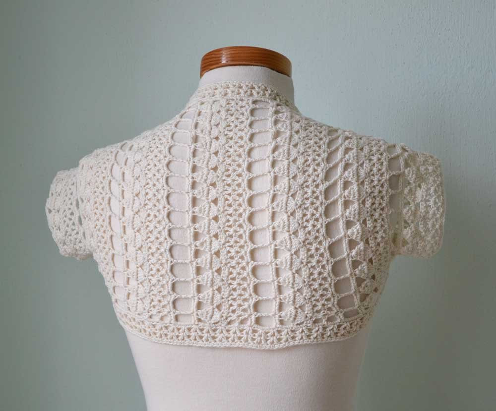 Elegant Crochet Lace Shrug Bolero Ivory H767 Crochet Lace Of Amazing 43 Photos Crochet Lace
