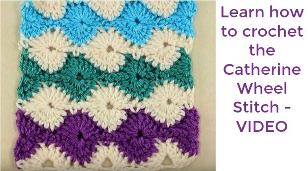 Elegant Crochet Mesh Stitch Learn with Pattern and Video Tutorial Catherine Wheel Stitch Crochet Of Contemporary 44 Photos Catherine Wheel Stitch Crochet