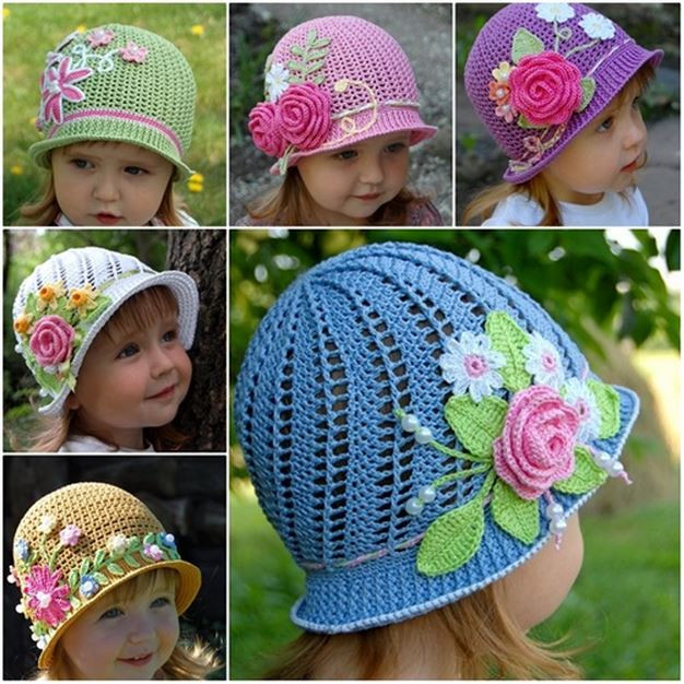 Elegant Crochet Panama Hat for Girls [free Pattern and Video Tutorial] Free Crochet Hat Patterns for Kids Of Beautiful 43 Photos Free Crochet Hat Patterns for Kids