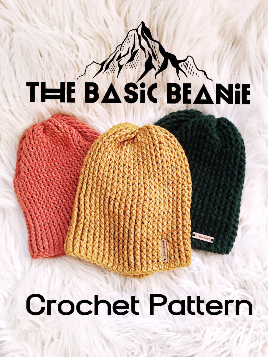 Elegant Crochet Pattern Basic Beanie Pattern Beanie Pattern Easy Crochet Hat Patterns for Beginners Of Perfect 43 Models Easy Crochet Hat Patterns for Beginners