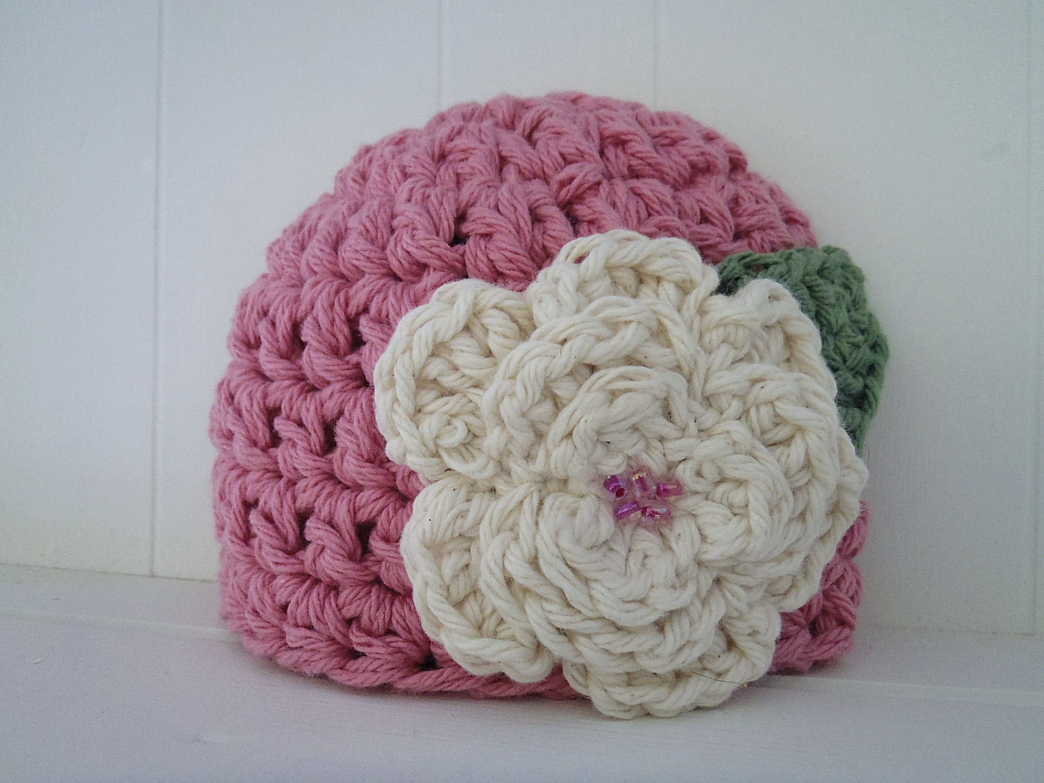 Crochet Pattern Chunky Basic Beanie Hat Newborn to Adult