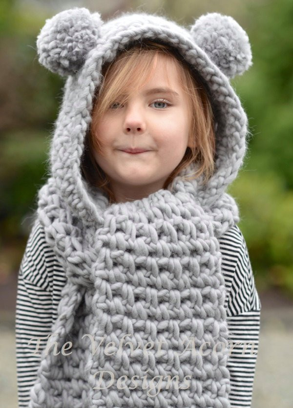 Elegant Crochet Pattern the Zolta Hooded Scarf 12 18 Months toddler Hooded Scarf Pattern Of Brilliant 43 Pics Hooded Scarf Pattern