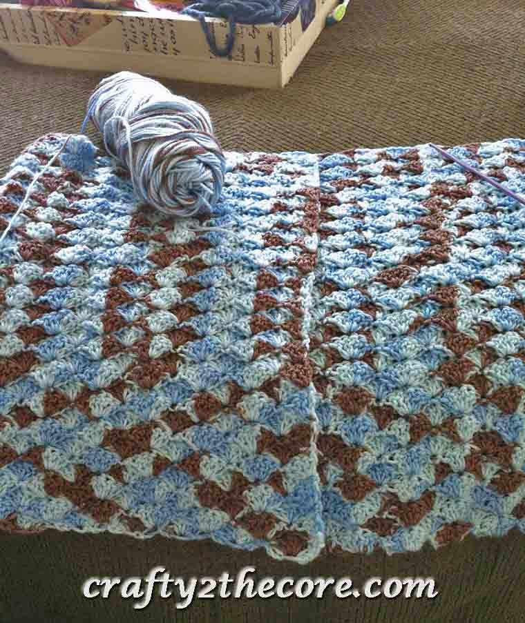 Elegant Crochet Shell Blanket Crafty 2 the Core Shell Stitch Baby Blanket Of Brilliant 49 Images Shell Stitch Baby Blanket