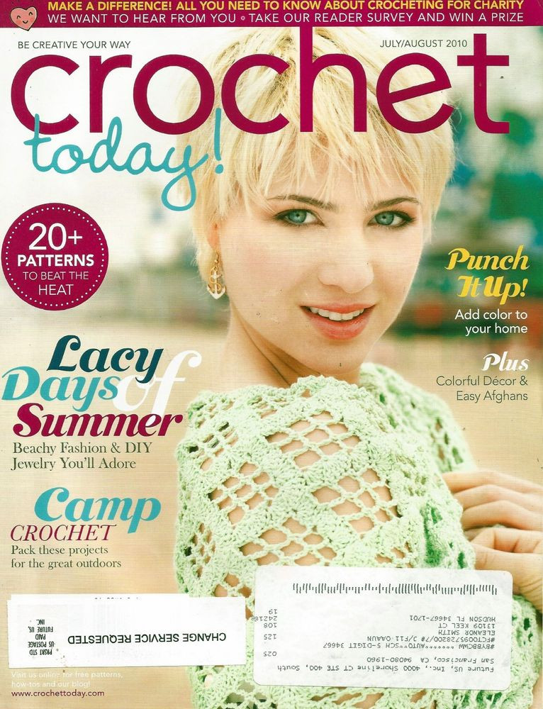 Elegant Crochet today Magazine July August 2010 Excellent Crochet now Magazine Of Wonderful 46 Images Crochet now Magazine