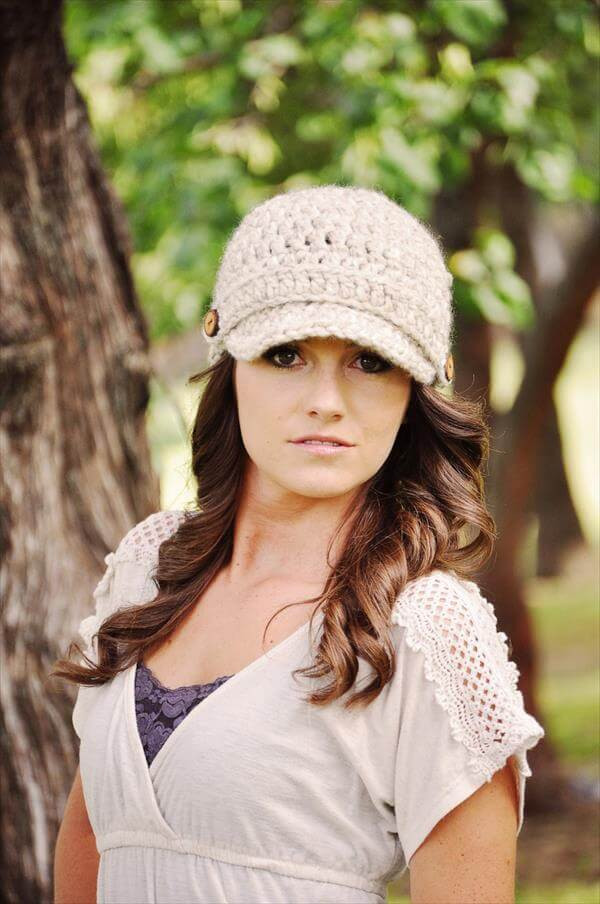 Elegant Crochet Women Newsboy Hat Pattern Crochet Hat for Girl Of Amazing 41 Pictures Crochet Hat for Girl