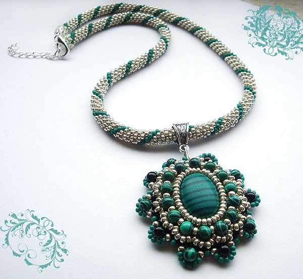 Elegant Crocheted Beads Rope Necklace with Vintage Style Crochet Bead Necklaces Of Unique 44 Photos Crochet Bead Necklaces