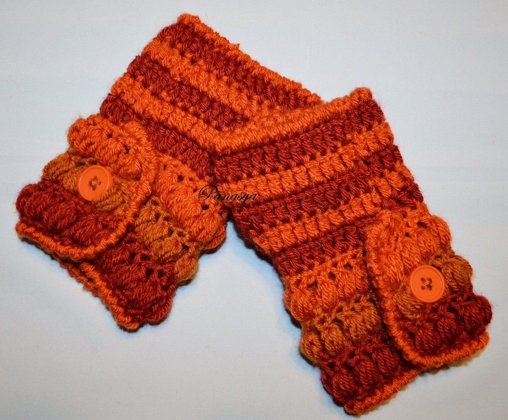 Elegant Crocheted Puff Stitches Mittens Free Pattern Puff Crochet Of Great 49 Ideas Puff Crochet