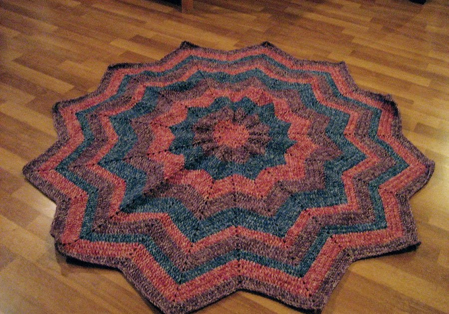 Elegant Cthulhu Crochet and Cousins More Round Ripple Afghans Round Afghan Crochet Pattern Of Great 44 Photos Round Afghan Crochet Pattern