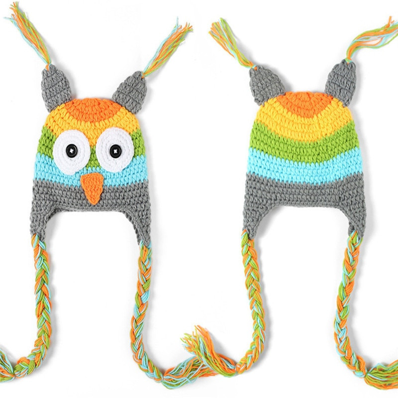 Elegant Cute Winter Baby Hat Cap Girls Boys Knitted Crochet Hats Knitted Owl Hat Of Amazing 40 Photos Knitted Owl Hat