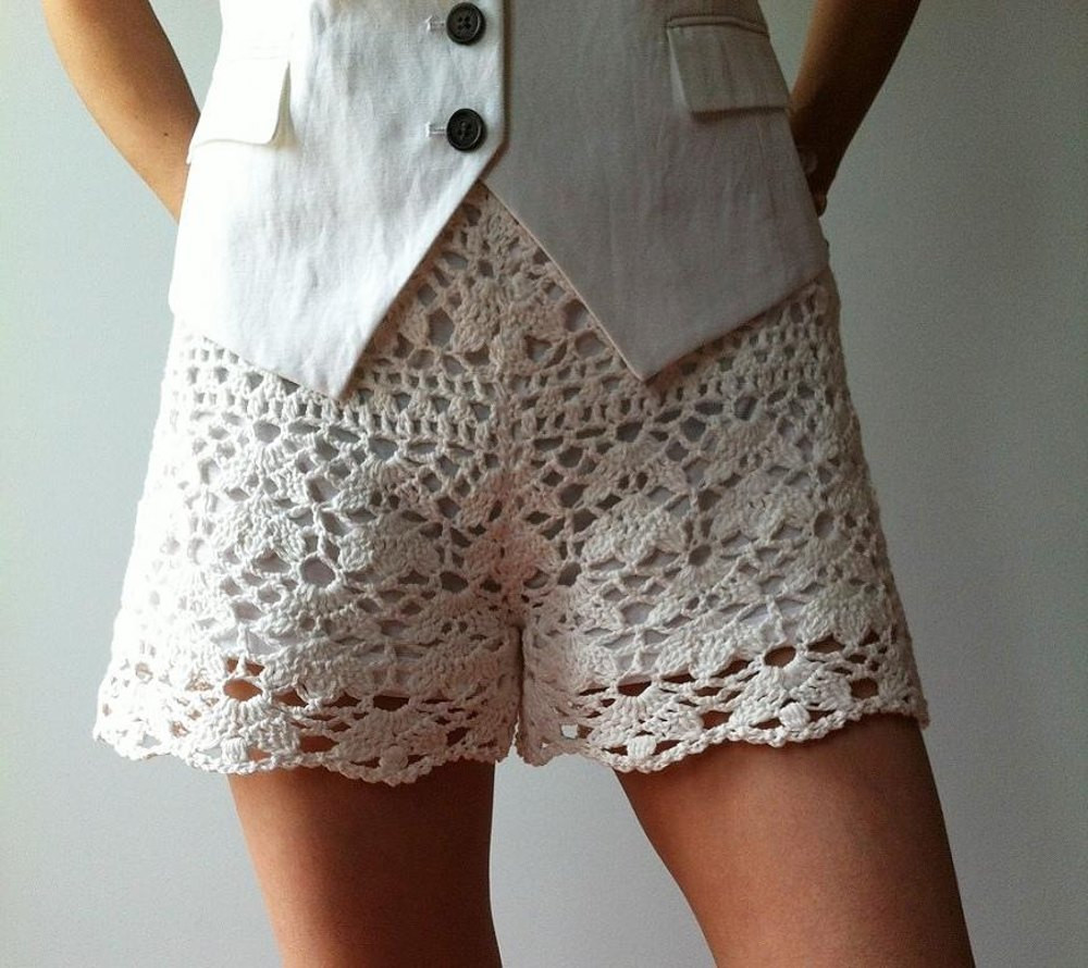 Elegant Cynthia Floral Lace Shorts Crochet Pattern by Vicky Chan Crochet Lace Shorts Of Unique 47 Photos Crochet Lace Shorts