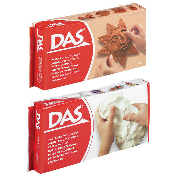 Elegant Das Air Drying Modelling Clay White Terracotta 500g Air Hardening Clay Of Gorgeous 45 Models Air Hardening Clay
