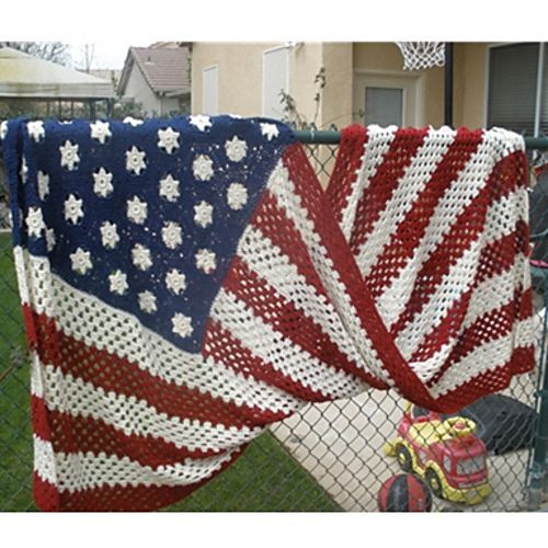 Elegant Deandrascrafts My Anniversary Afghan American Flag Crochet Blanket Of Gorgeous 42 Ideas American Flag Crochet Blanket