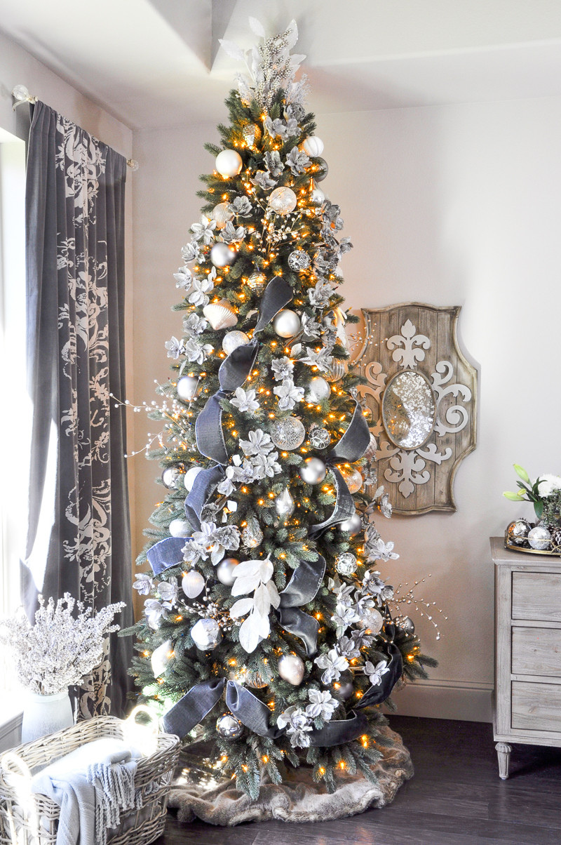 Elegant Deck the Halls Christmas Home tour Entry Decor Gold Christmas Tree and Decorations Of Delightful 50 Pictures Christmas Tree and Decorations
